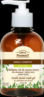 GP gentle facial wash gel GREEN TEA2