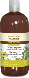 GP shower gel SHEA BUTTER and GREEN COFFE5 120x324